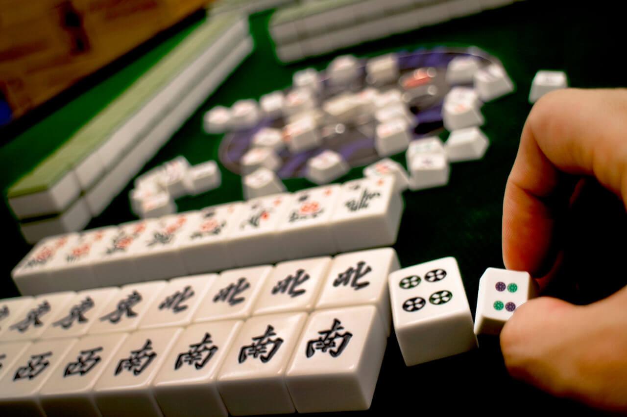 Mahjong Keycaps 01