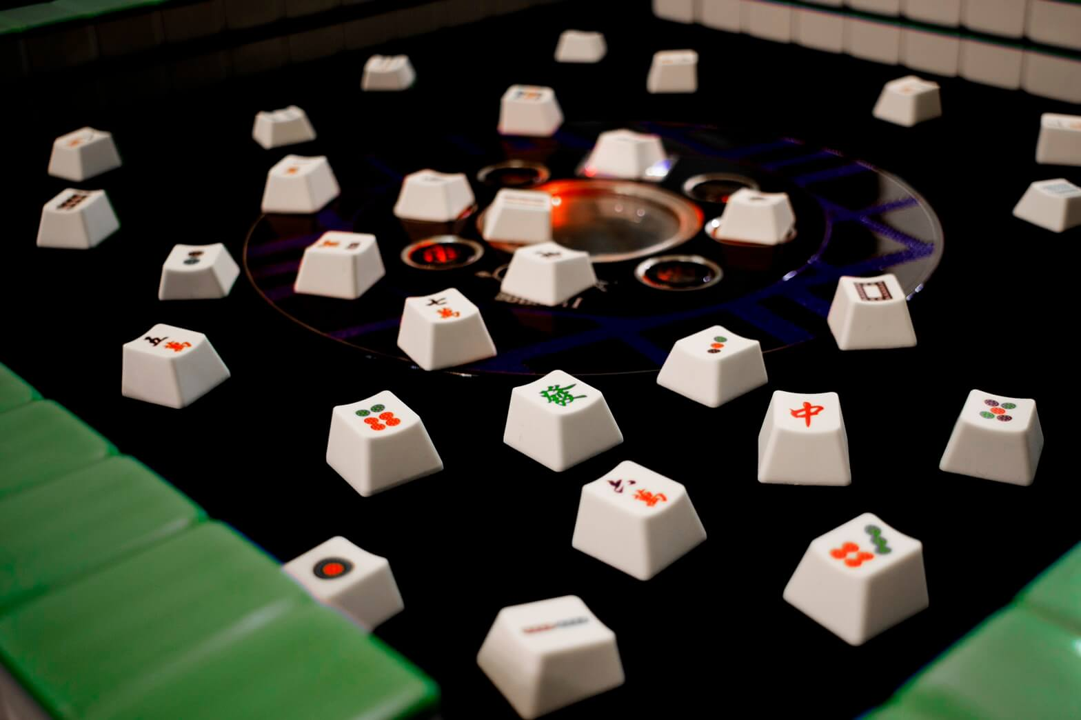 Mahjong Keycaps 02