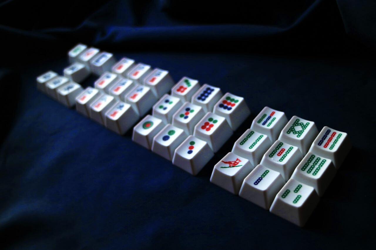 Mahjong Keycaps 03