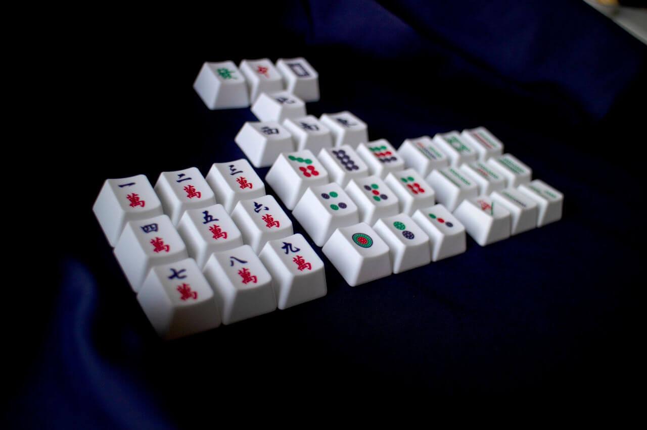 Mahjong Keycaps 04