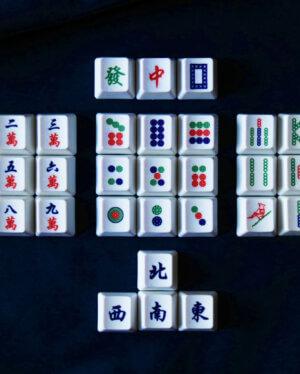 Mahjong Keycaps 06