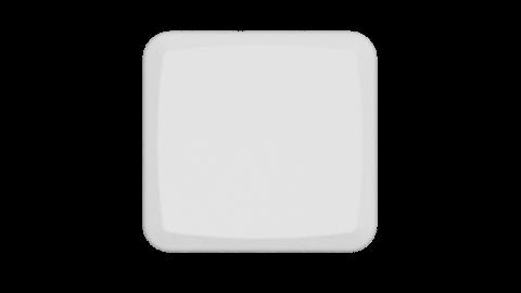 Mbk Low Profile White 1u